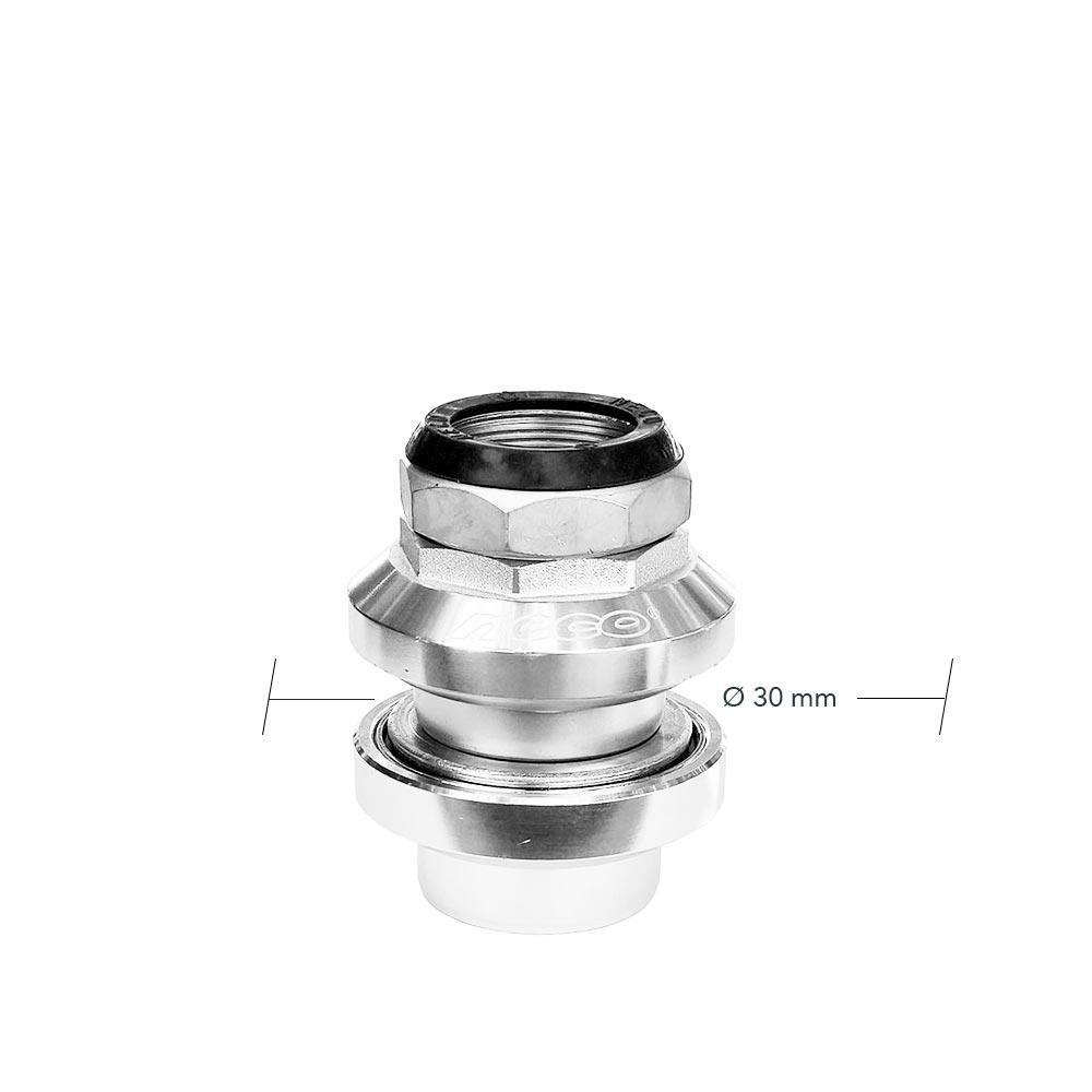 Caja de Dirección Neco Aluminio c/ Rosca Ø 25,4 mm