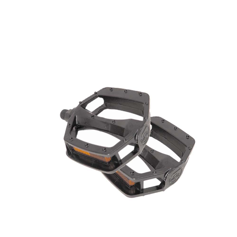 Pedales de Aluminio Negro BMX 1/2 (Par)